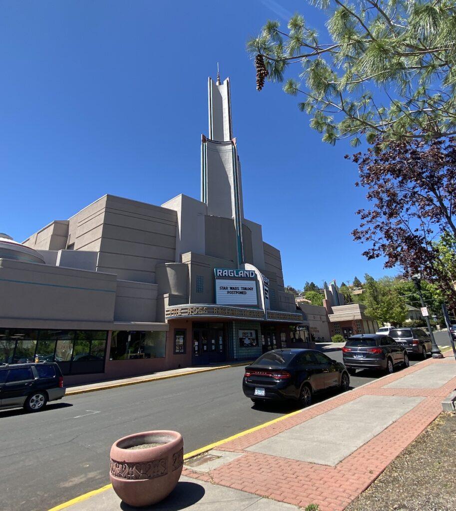 Ragland Theater in Klamath Falls, Oregon.