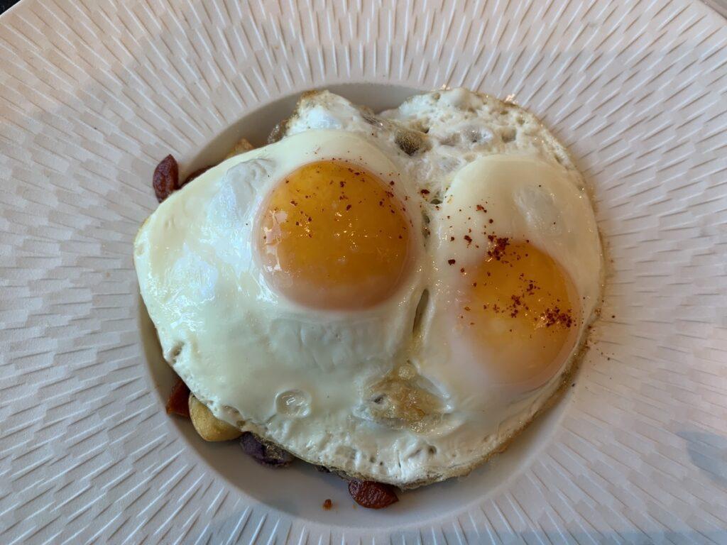 Egg breakfast from Area 31.