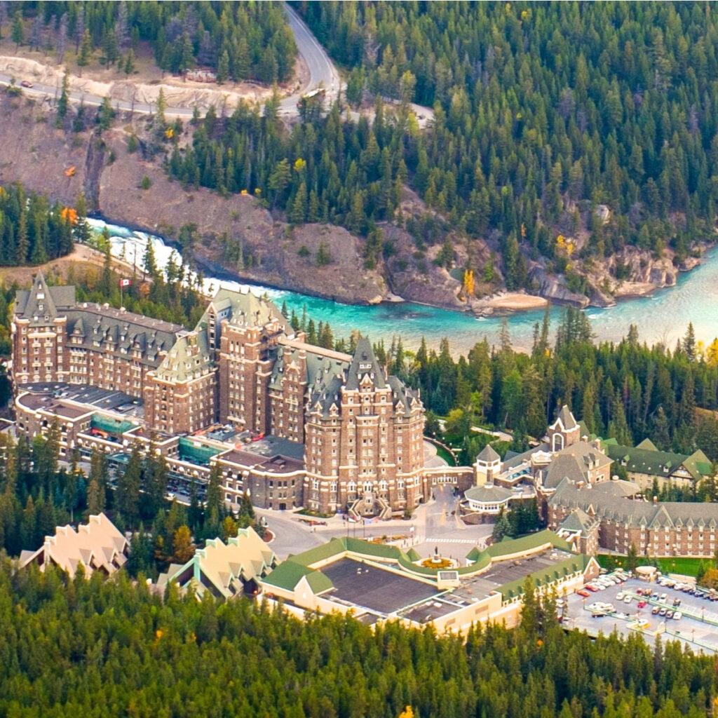 Fairmont Banff Springs.