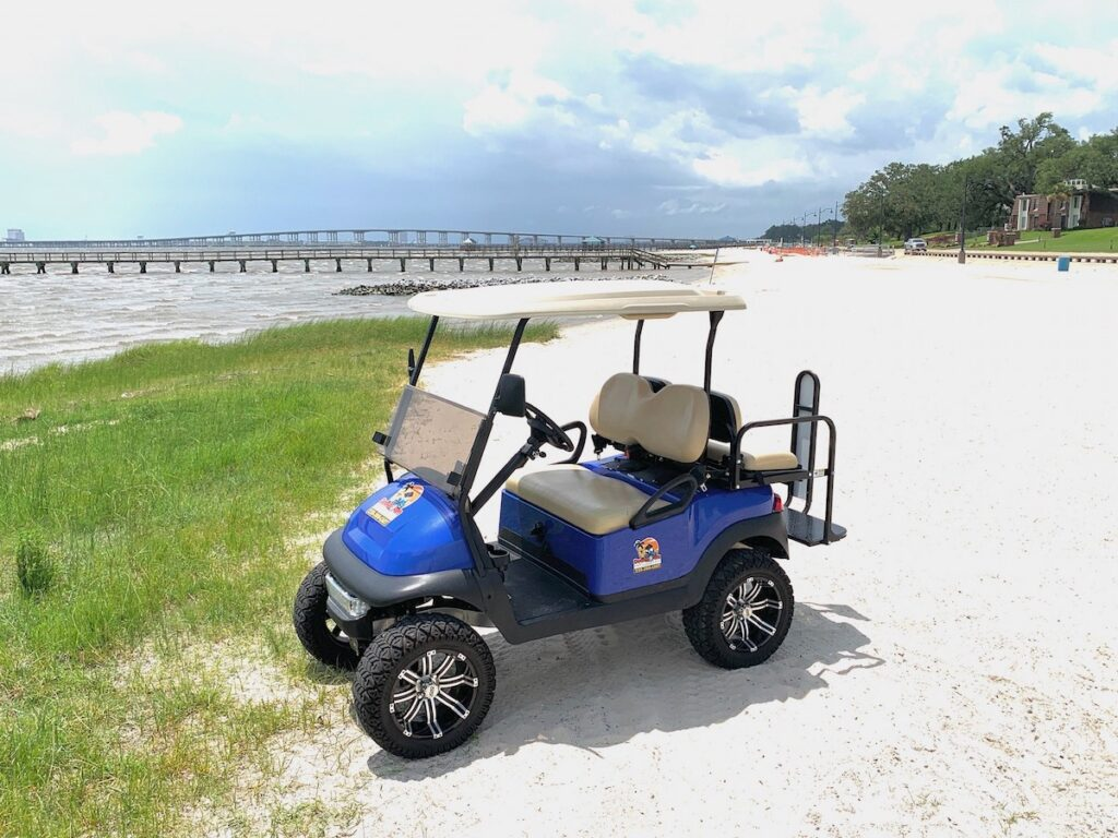 Downtown Golf Cart Rentals, Ocean Springs.