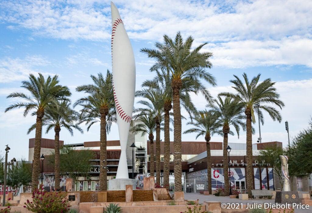 Goodyear Ballpark in Goodyear, Arizona.