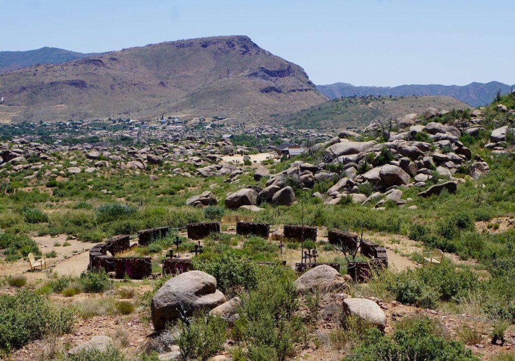 Hotshots Trail in Arizona.