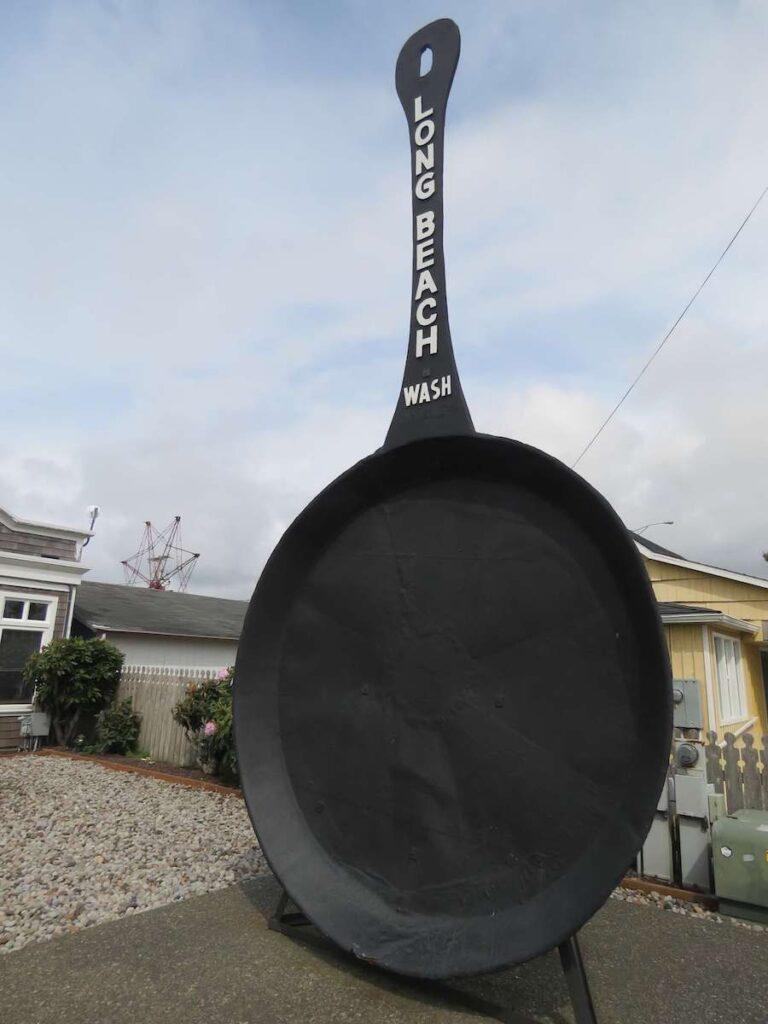 The largest frying pan in the world.