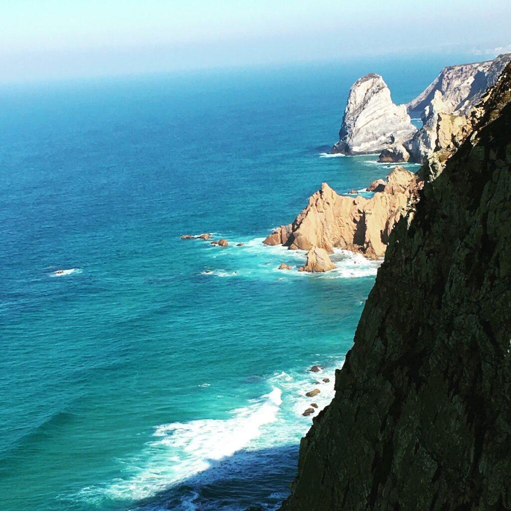 Cabo da Roca in Sintra, Portugal.