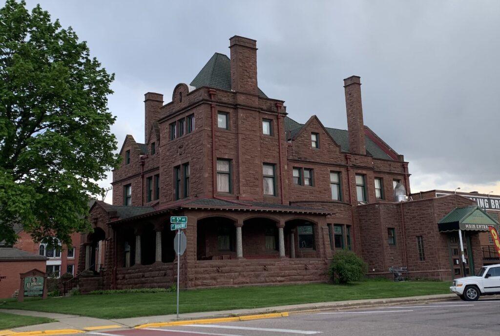 Al Ringling Home in Baraboo, Wisconsin.