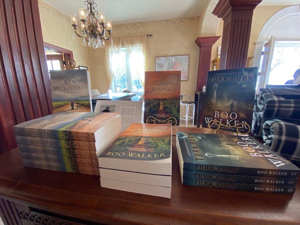 Boo Walker books for sale.