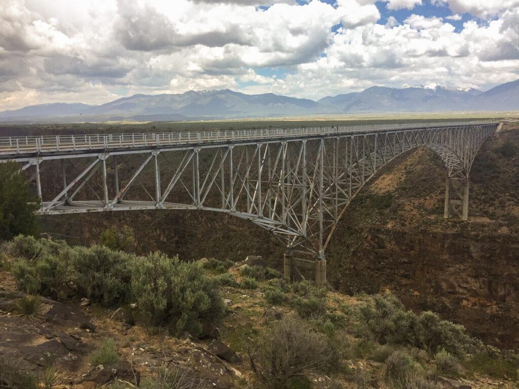 Rio Grande Gorge Bridge, New Mexico.