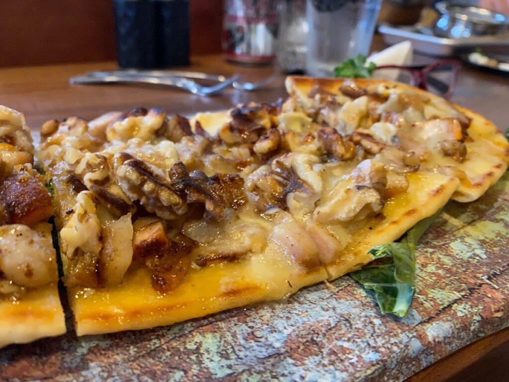 Pizza de langosta, Restaurante y Pizzeria Edelyn.