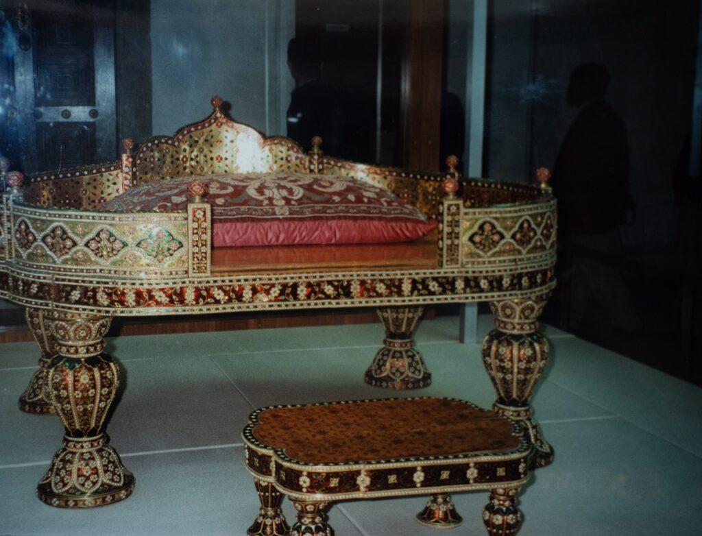 Exhibit in the Topkapi Museum, Istanbul.