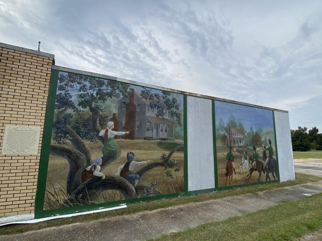 Swamp Fox Murals, Manning, South Carolina.
