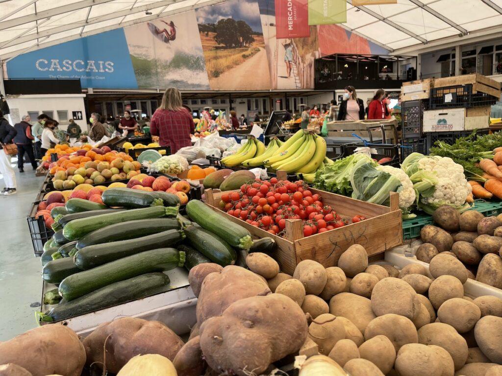 Mercado de Vila in Cascais, Portugal.