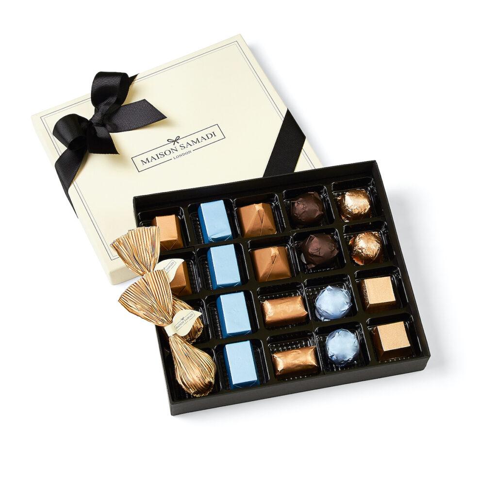 Assorted chocolates from Maison Samadi.