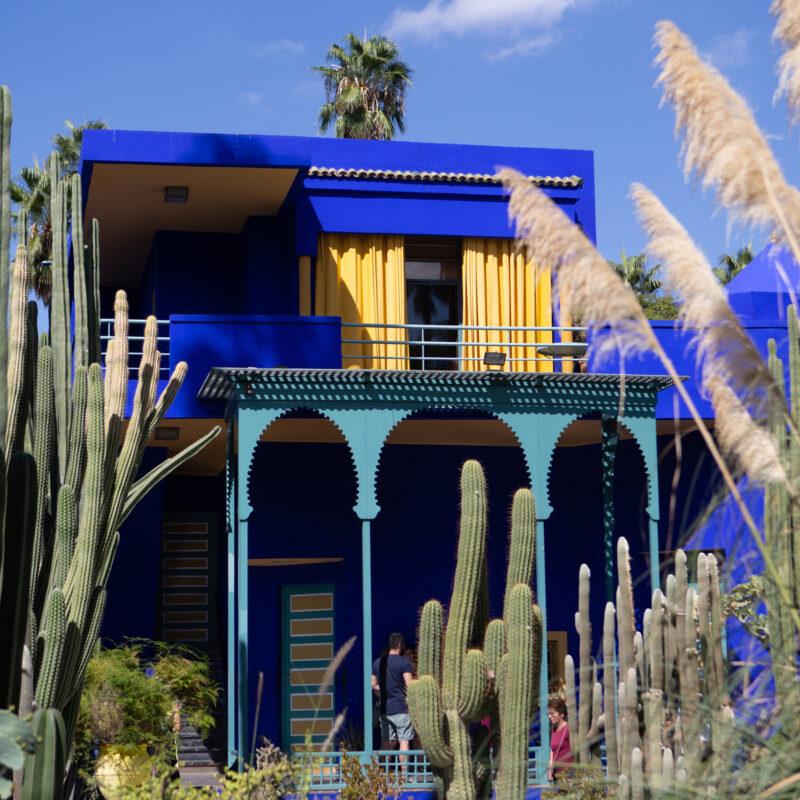 Museum of Yves Saint Laurent, Majorelle Garden, Marrakesh, Morocco.