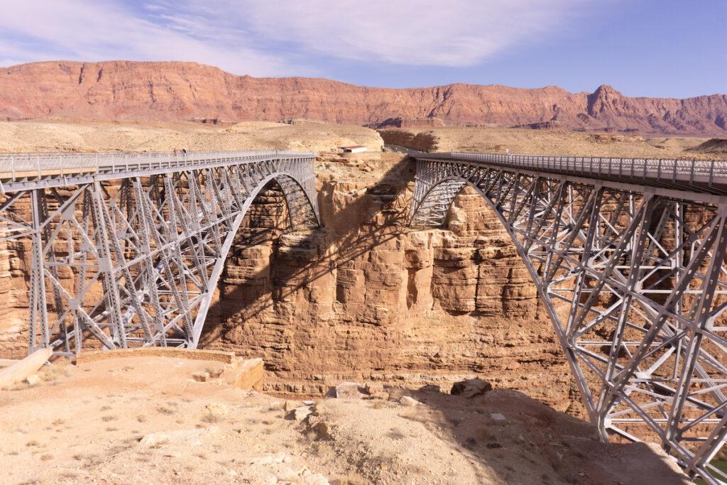 Navajo Bridge in Coconino County, Arizona.