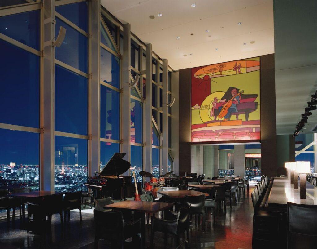 New York Bar at Park Hyatt Tokyo.