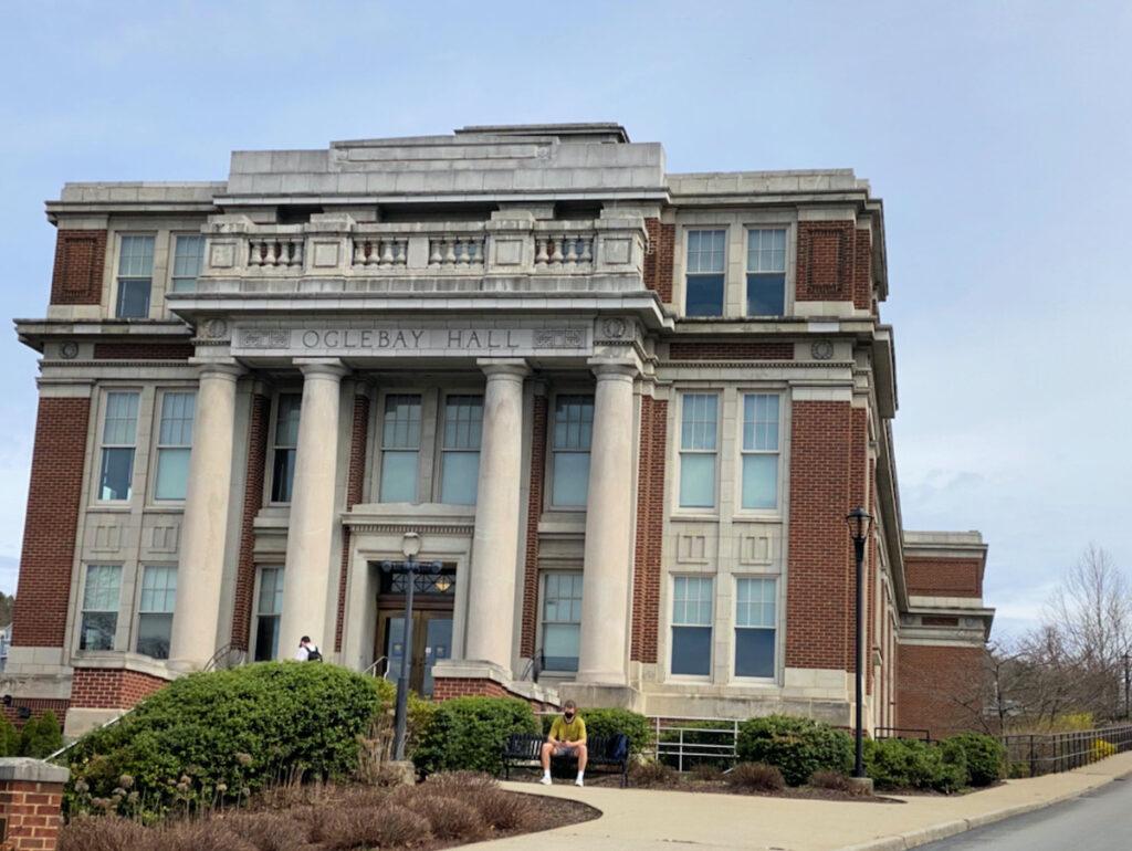 Oglebay Hall at WVU.