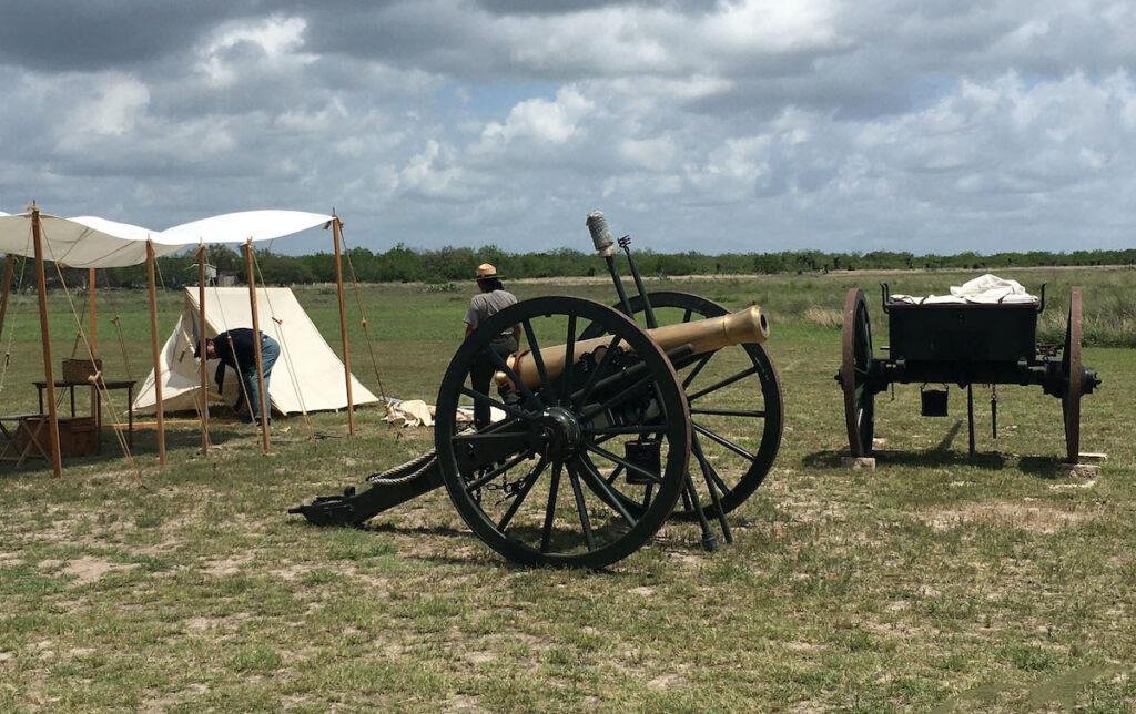Campo de batalla de Palo Alto, Texas.