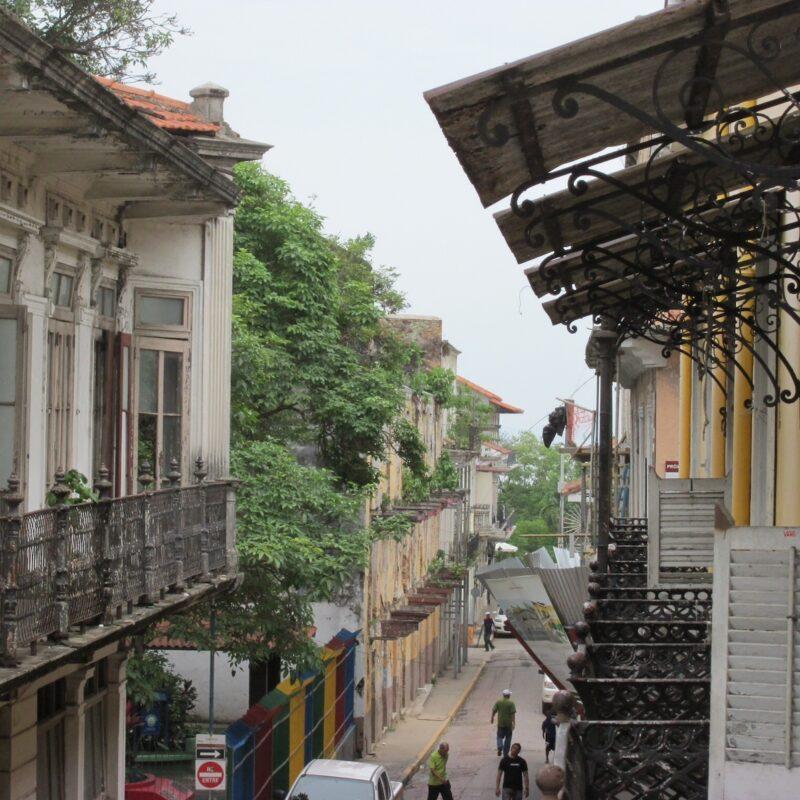 Buildings in Panama.