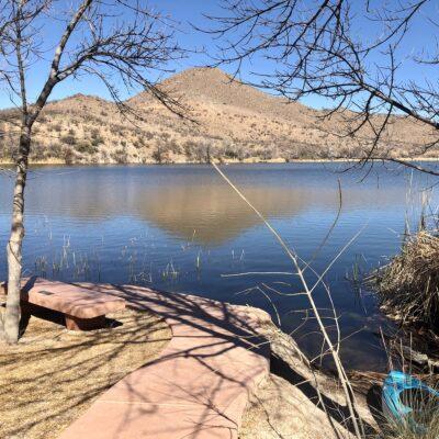 Patagonia Lake State Park in AZ.