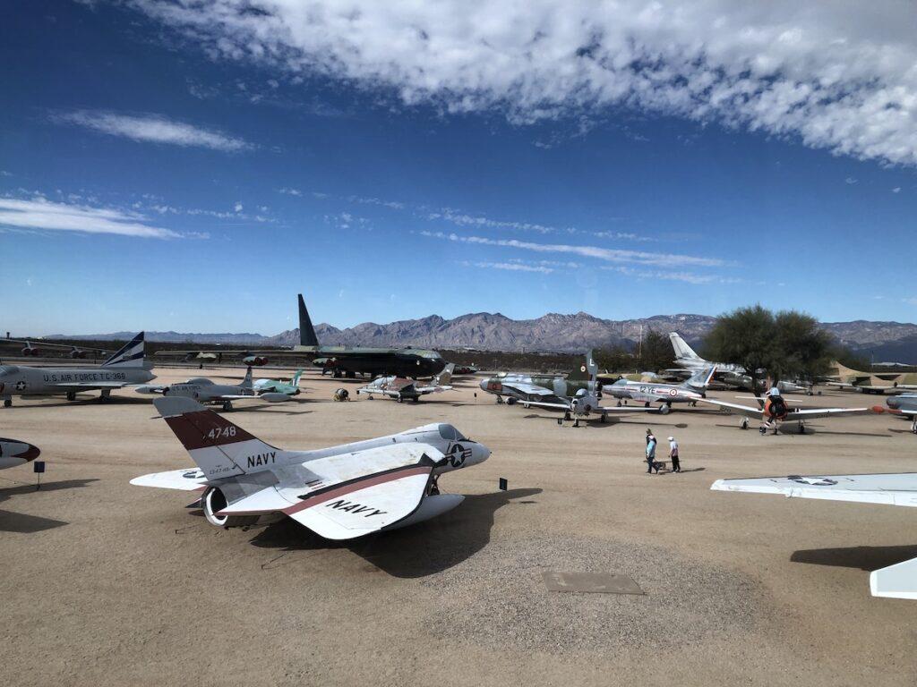 Planes, Pima Air & Space Museum, Tucson.