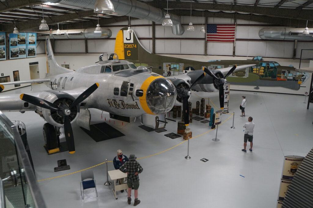 Pima Air & Space Museum Interior, Tucson.