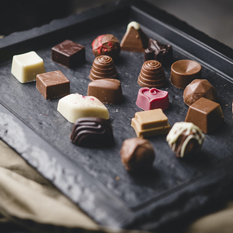 Chocolates from Domea.