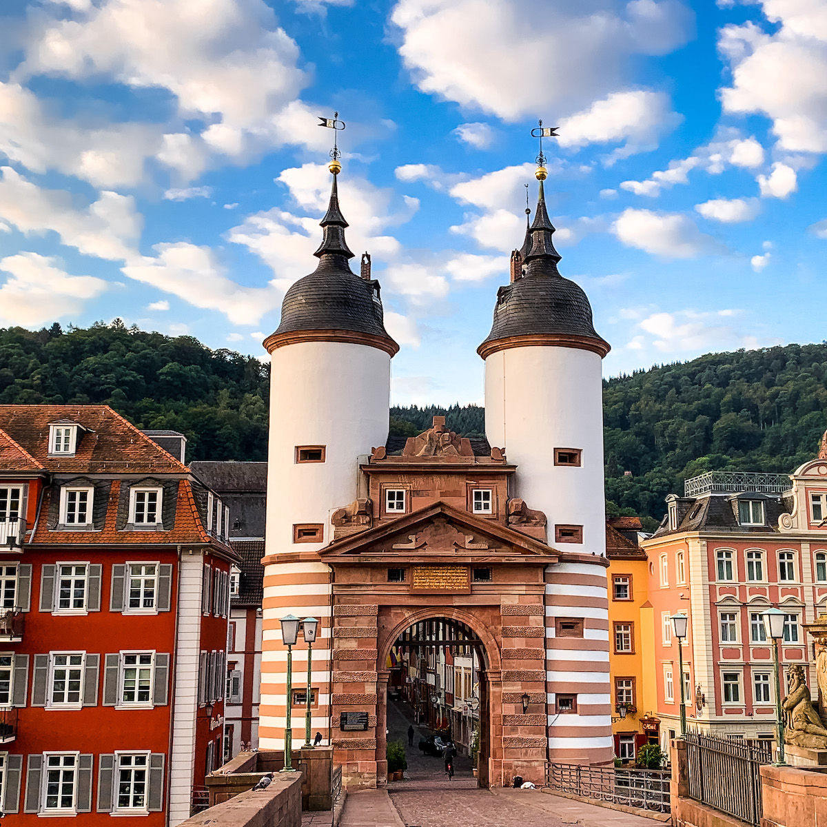 Old Bridge in Heidelberg, Germany.