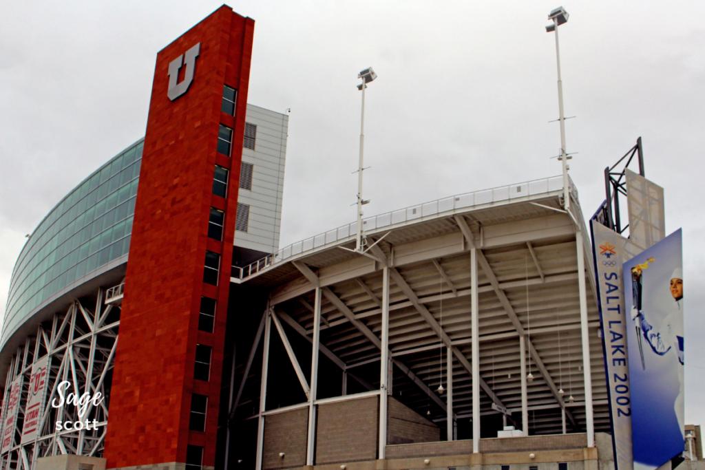 Rice-Eccles Stadium in Utah.