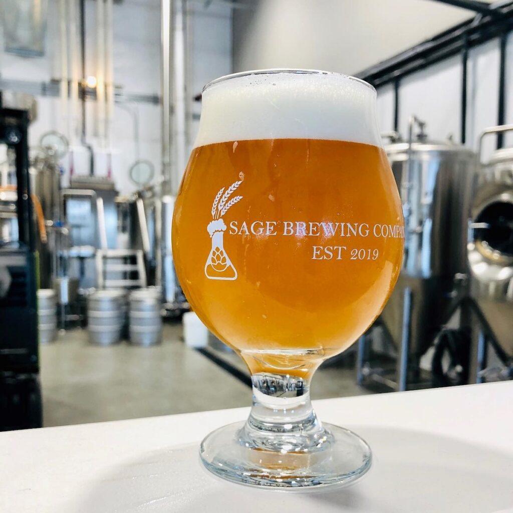 Craft beer at Sage Brewing Company.