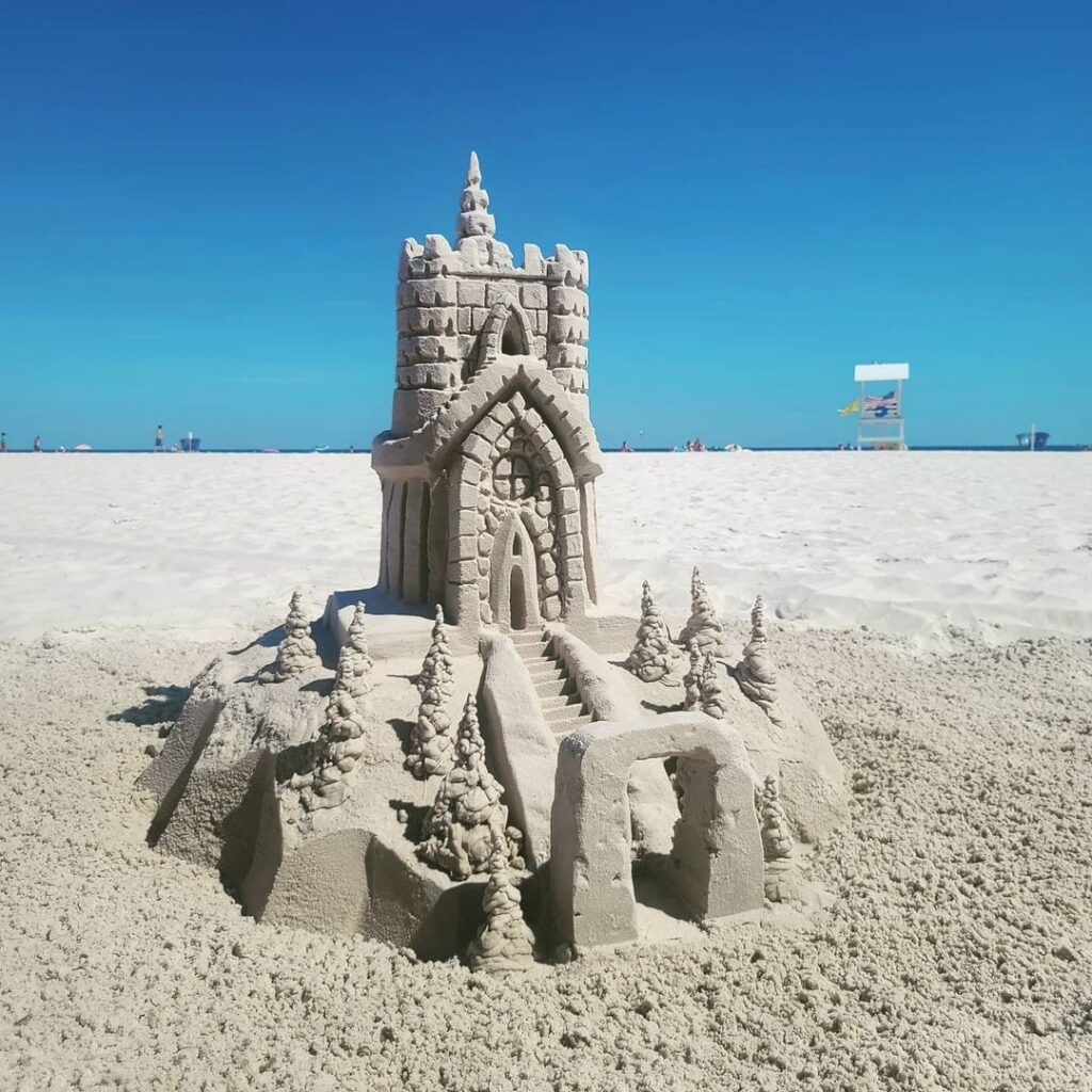 Intricate Castle Design from Sandcastle University.