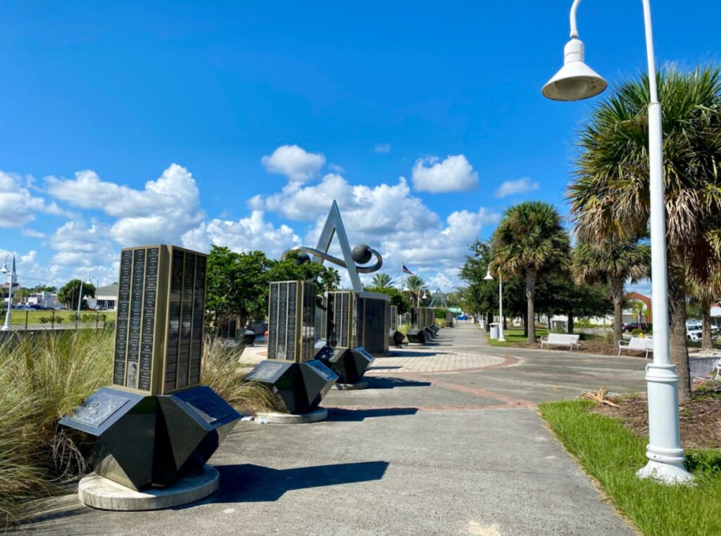 Space View Park in Titusville.