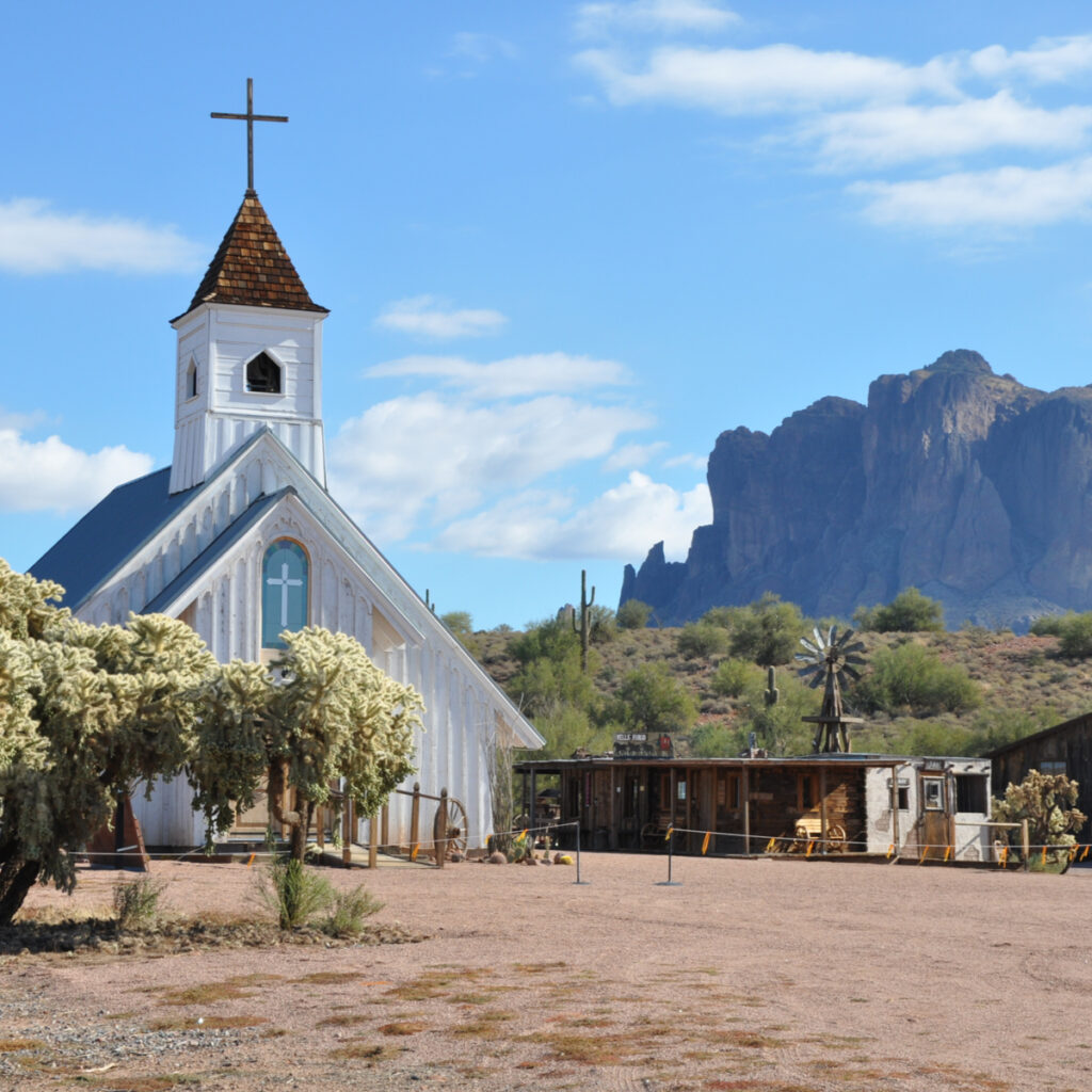 Superstition Mountain Museum.