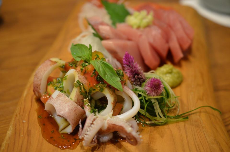 Seafood in Taiwan.