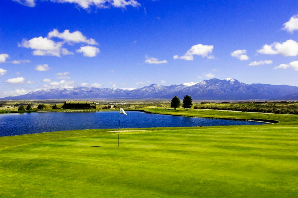 Taos Country Club Golf Course.