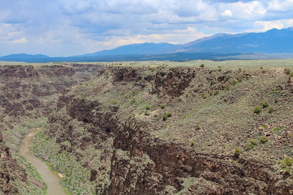 Rio Grande Gorge in Taos, NM.
