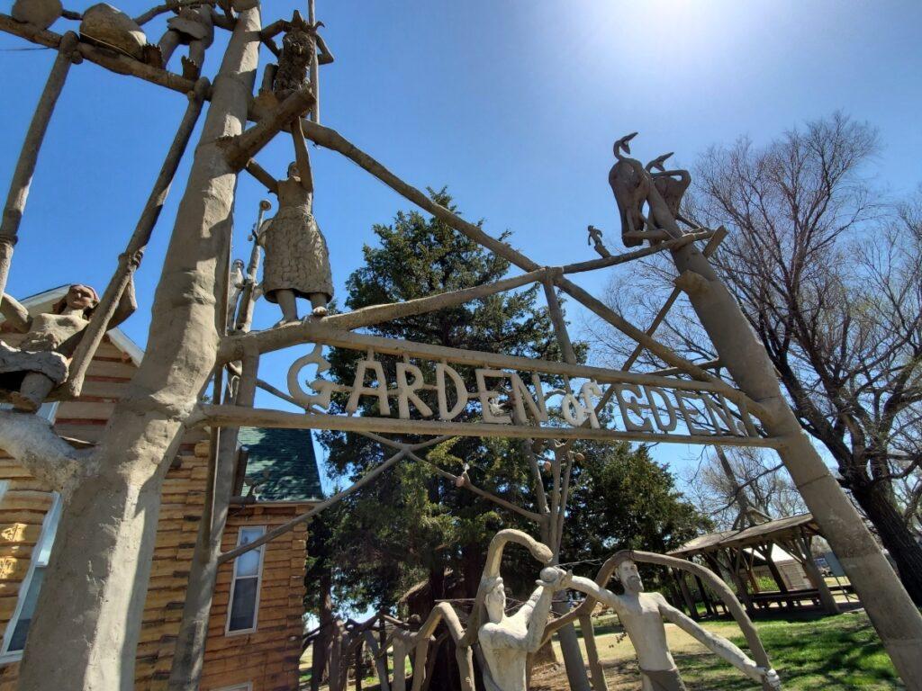 The Garden of Eden, Lucas, Kansas.
