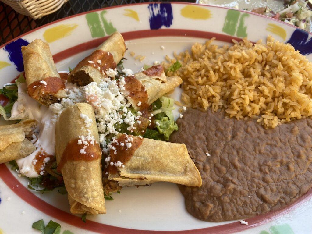 Tacos at Todo's Mexican Restaurant.