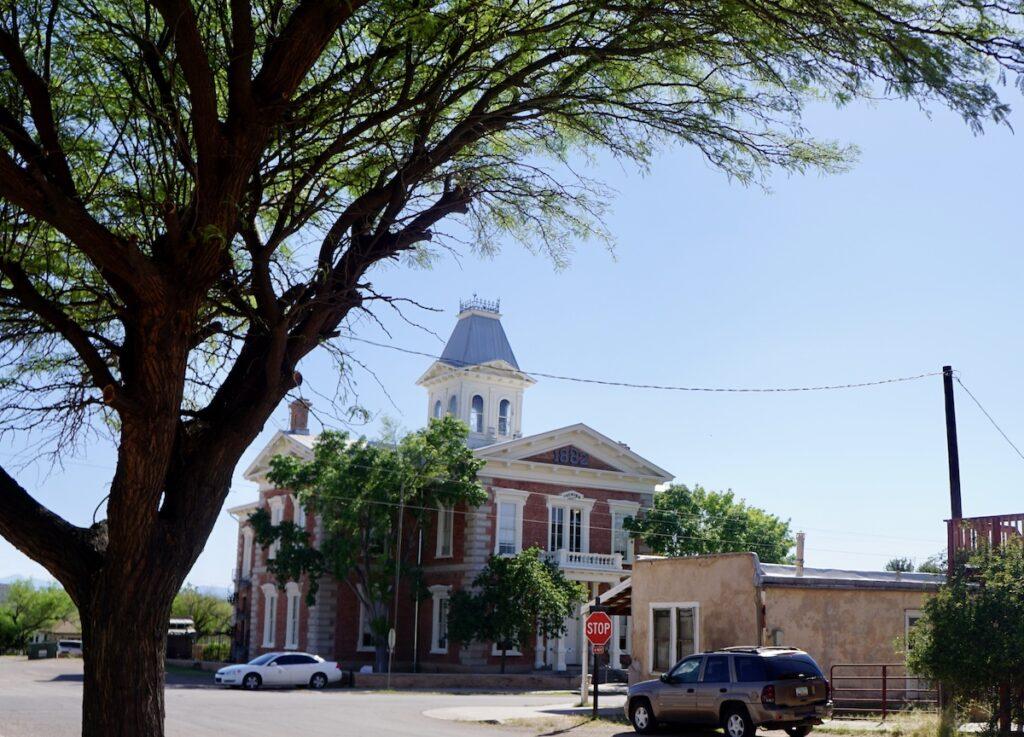 Historic Tombstone Courthouse in Arizona.