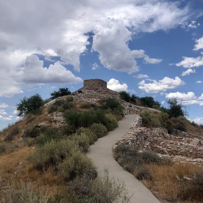 Tuzigoot National Monument in Arizona.