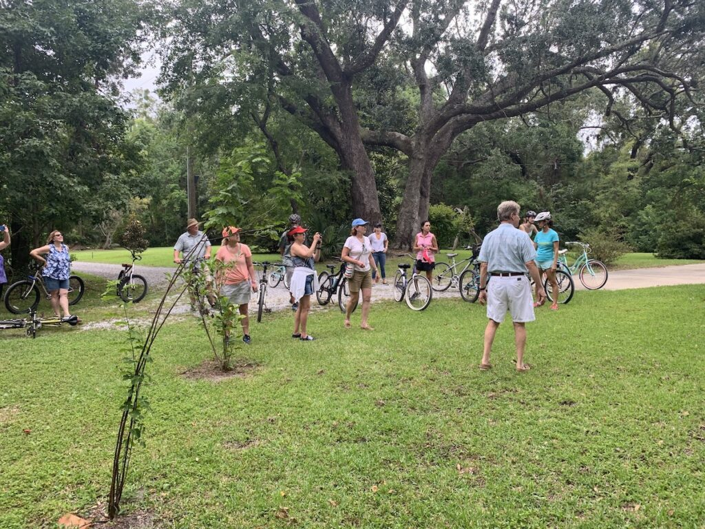Museum and bicycle tour of Walter Anderson Museum and Ocean Springs.