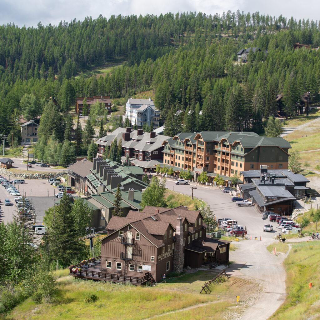 Whitefish Mountain Resort.
