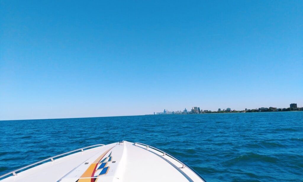 30ft Supercharged Speed Boat rental in Chicago