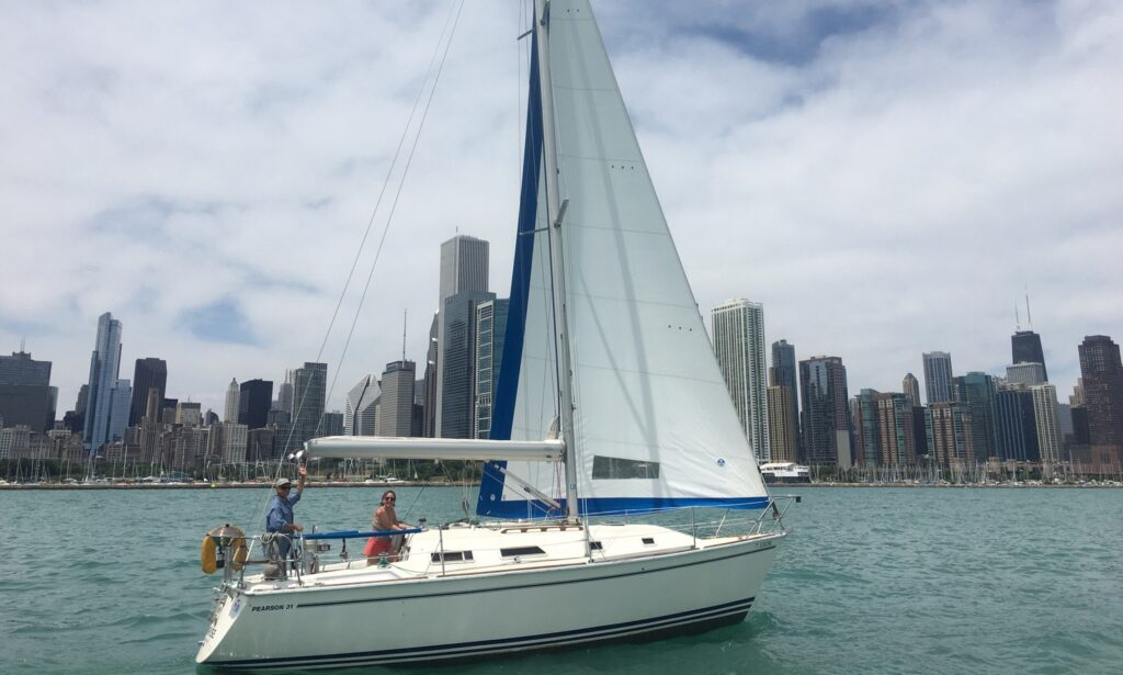 31' Pearson Cruising Sloop for rent in Chicago
