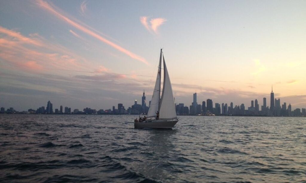 Captained Charter this 36' C & C Cruising Monohull boat rental in Chicago