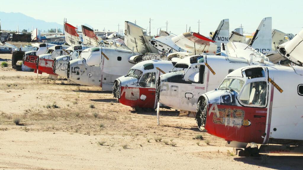 Aircraft boneyard, Davis–Monthan AFB AMARG.