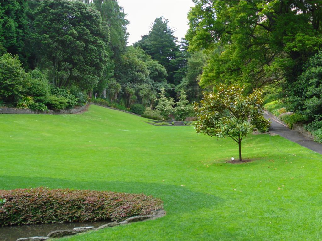 Napier Botanical Gardens in New Zealand.