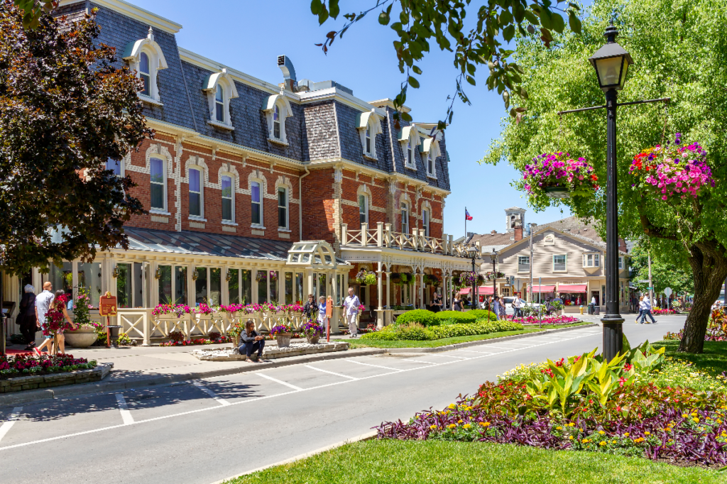 Historic Prince of Wales Hotel in Niagara-on-the-Lake, Ontario.