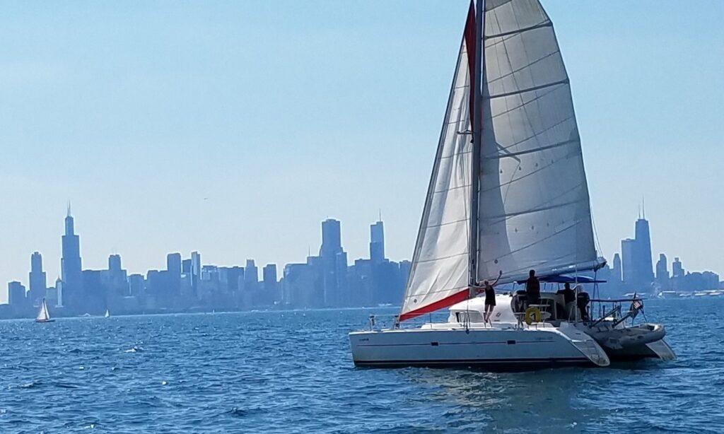 catamaran rental Chicago from GetMyBoat