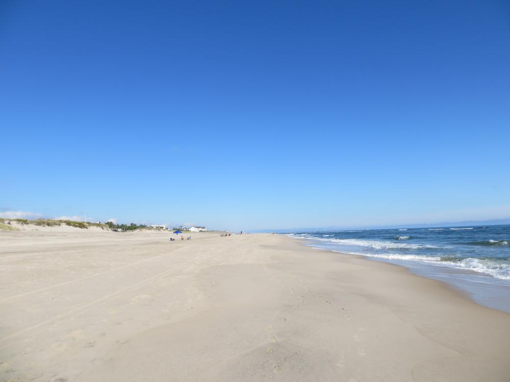 Coopers Beach à Southamptom, New York.