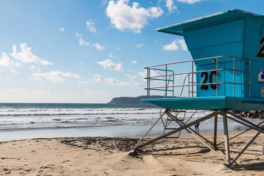 Coronado Beach à San Diego, Californie.